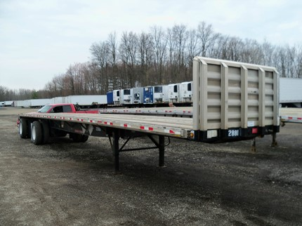 GREAT DANE 48 FOOT FLATBED TRAILERS