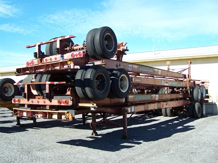 TIMPTE 40 FOOT CHASSIS