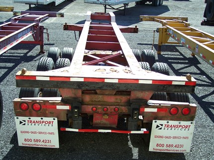 STRICK 33 FOOT CHASSIS