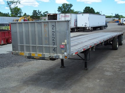 UTILITY 48 FOOT FLATBED TRAILERS