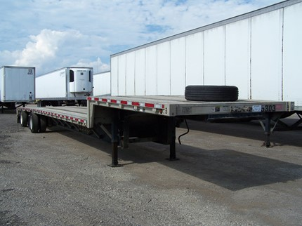 WILSON 53 FOOT SINGLE DROP FLATBED