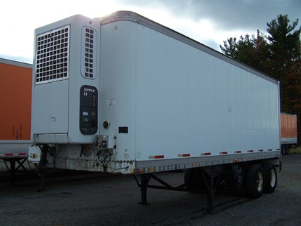 AMERICAN 28 FOOT VAN TRAILERS