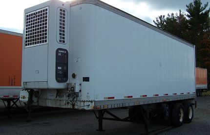 28 FOOT VAN TRAILERS