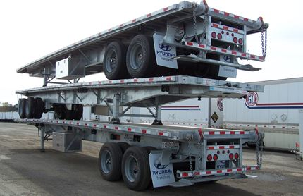 45 FOOT FLATBED TRAILERS