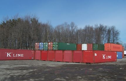 40 FOOT CONTAINERS