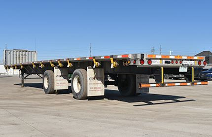 53 FOOT FLATBED TRAILERS