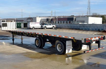 TRANSCRAFT 53 FOOT FLATBED TRAILERS