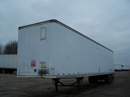 STRICK 48 FOOT VAN TRAILERS