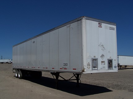 WABASH NATIONAL 48 FOOT VAN TRAILERS
