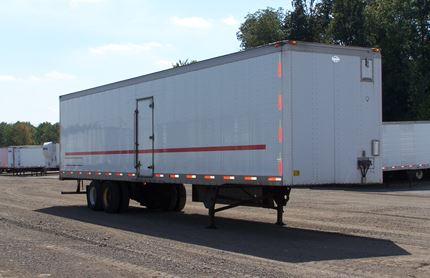36 FOOT VAN TRAILERS