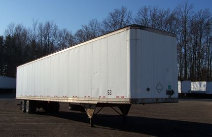 PINES 53 FOOT VAN TRAILERS