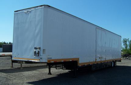 53 FOOT DROP VAN TRAILERS