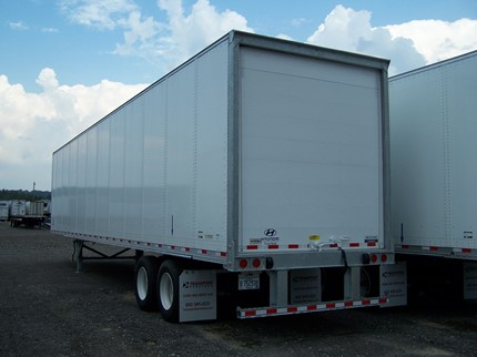 HYUNDAI 48 FOOT VAN TRAILERS
