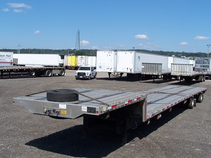 TRANSCRAFT SINGLE DROP FLATBED TRAILERS