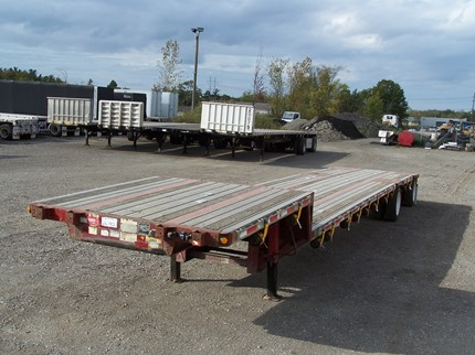 FONTAINE 48 FOOT SINGLE DROP FLATBED