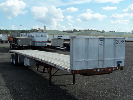 FONTAINE 48 FOOT FLATBED TRAILERS