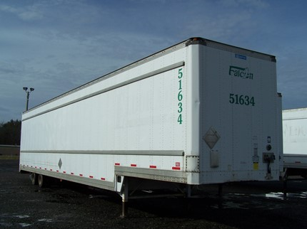 STOUGHTON 53 FOOT DROP VAN TRAILERS