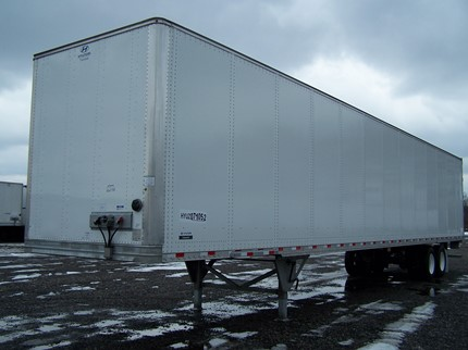 HYUNDAI 53 FOOT VAN TRAILERS