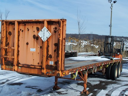 GREAT DANE 36 FOOT FLATBED TRAILERS