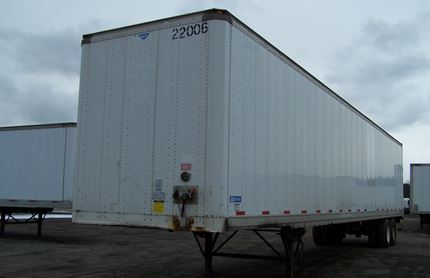 53 FOOT VAN TRAILERS