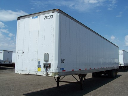 STOUGHTON 53 FOOT VAN TRAILERS