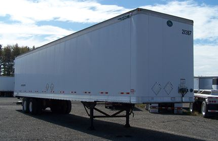 GREAT DANE 48 FOOT VAN TRAILERS