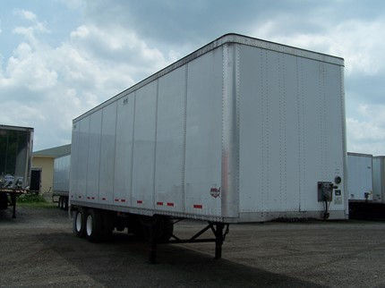 WABASH NATIONAL 32 FOOT VAN TRAILERS