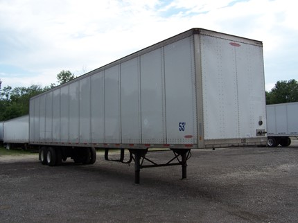 TRAILMOBILE 53 FOOT VAN TRAILERS