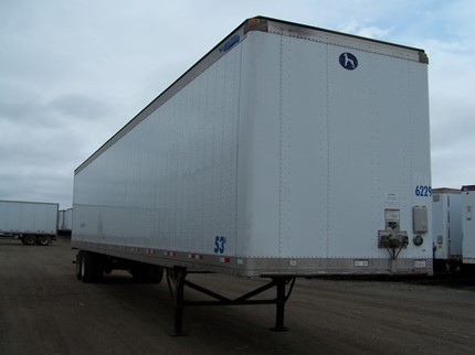 GREAT DANE 53 FOOT VAN TRAILERS