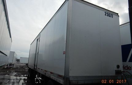 36 FOOT VAN TRAILER