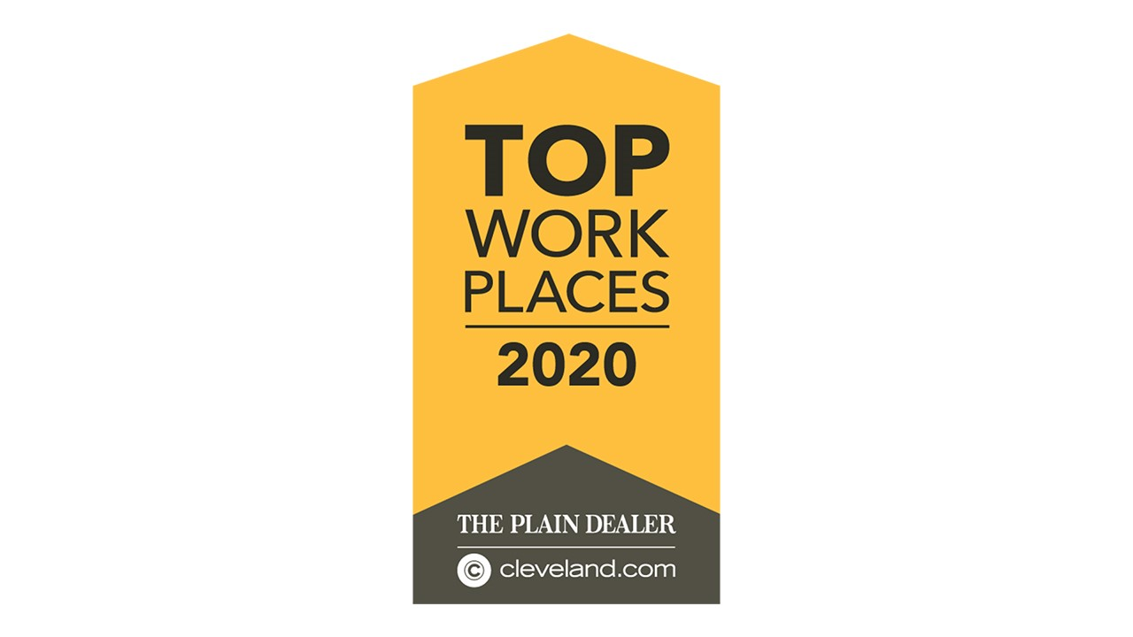 Company Earns Recognition as a 2020 Top Place to Work