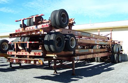 45 FOOT CHASSIS