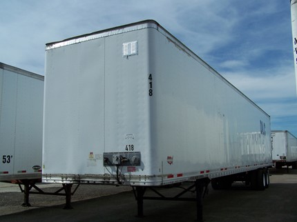 WABASH NATIONAL 53 FOOT VAN TRAILERS