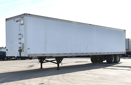 UTILITY 53 FOOT VAN TRAILERS