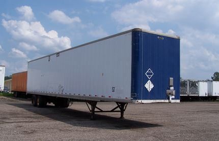 STRICK 53 FOOT VAN TRAILERS