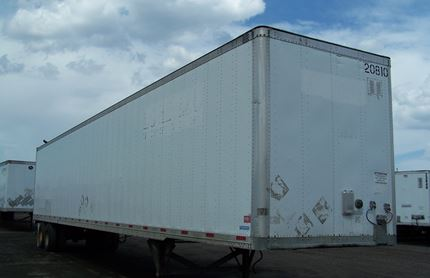 53 FOOT VAN TRAILER