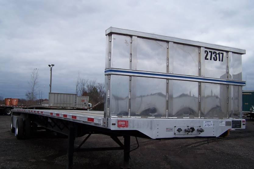 TRANSCRAFT 48 FOOT FLATBED TRAILERS