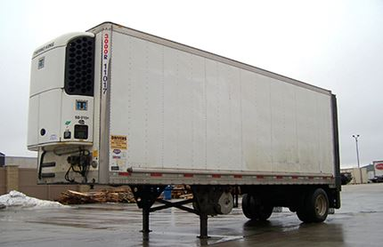 28 FOOT REFRIGERATED TRAILER